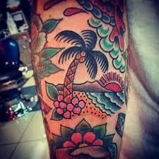 palm tree tattoos tattoos palm and tatting
