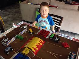 monster jam truck party supplies monster jam play arena made by my husband oliver pinterest