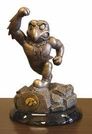 Antique Desk Fan by Choose Your Ncaa College Team Antique Bronze Patina Desktop Statue