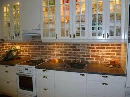 stunning brick tile kitchen backsplash contemporary best house