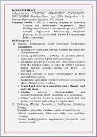 mba marketing experience resume sample resume blog co resume sample for mba marketing u0026 pgd finance