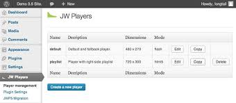 jwplayer android jw player license key