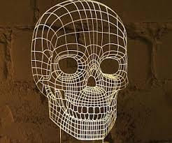 optical illusion lamps
