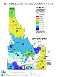 Oregon Drought Map by New Map Details Idaho U0027s Encouraging Snowpacks Boise State Public