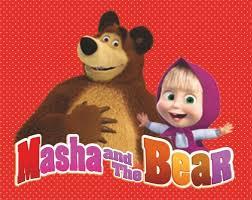 masha bear lannoo graphics