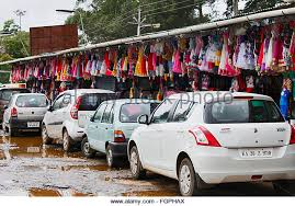 Parking Near Botanical Gardens Near Ooty Stock Photos Near Ooty Stock Images Alamy