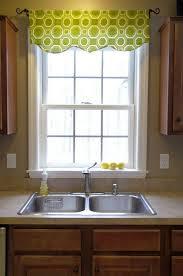 kitchen simple cotton green octagon pattern kitchen valances