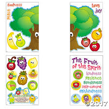 spirit halloween catalog fruit of the spirit bulletin board set