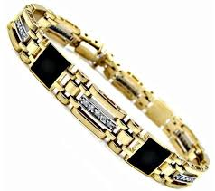 jewelry man gold bracelet images Mens gold bracelets with diamonds google search men 39 s jpg