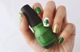 st patrick u0027s day nails green nail art ideas