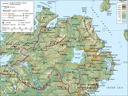 Geographical Map Of Europe by Maps Of Ireland Detailed Map Of Ireland In English Tourist Map