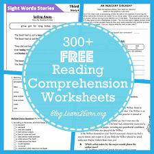 reading comprehension materials 20 websites for free reading comprehension worksheets