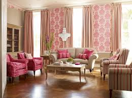 Pale Pink Curtains Decor 30 Extremely Charming Pink Living Room Design Ideas Rilane