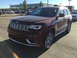jeep summit interior new 2018 jeep grand cherokee 4x4 summit v6 heated and cooled natura