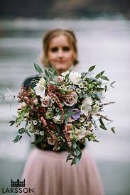 Wedding Flowers Queenstown Boho Bride Weds Her Husband On The Shores Of Lake Hayes Queenstown