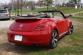 2013 volkswagen beetle turbo convertible saying goodbye