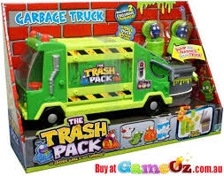 trash pack garbage truck