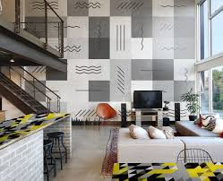 contemporary living room grey sofa summer wall murals furniture wall murals contemporary living room