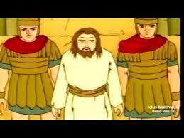 imagenes de jesucristo animado arresto juicio muerte y resurrección de jesús dibujos animados