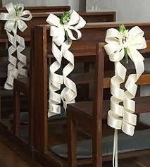 decoration eglise pour mariage comment décorer ses bancs d église décoration forum mariages net