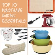 10 Must Essentials For A by 10 Must Baking Essentials For