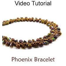 simple beaded bracelet images Beaded st petersburg stitch bracelet jewelry making video jpg