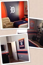 Baseball Bedroom Decor 17 Best Detroit Tigers Bedroom Decor Ideas Images On Pinterest