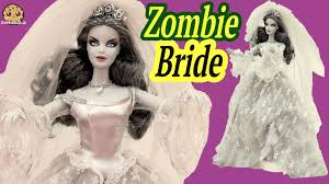 zombie bride haunted beauty gold label collection collectors