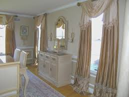 dining room view drapes for formal dining room interior design