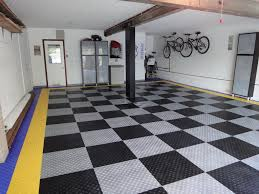 grey garage floor tile garage floor tile style