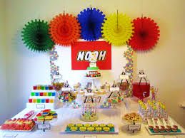 interior design best superhero theme party decorations