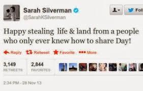 jewess silverman s hateful thanksgiving tweet daily stormer