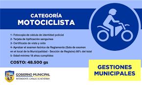 registro de conducir u2013 municipalidad de luque