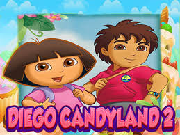 diego dora candyland 2 game chip games