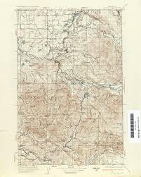 Walla Walla Washington Map by