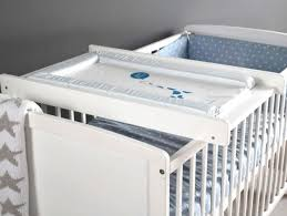 Mini Crib With Attached Changing Table Crib With Changing Table Furniture Ideas Mini Crib With