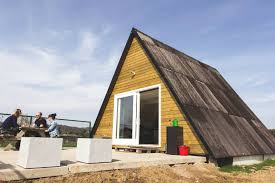 a frame homes the tipi a cost efficient a frame house in belgium