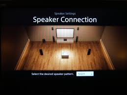 solved str dn850 and 7 1 channel speaker system using fro sony