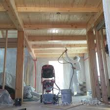 White Wood Ceiling by Finishing Interior Wood Ceilings On Our Alaska Lake Cabin Ana