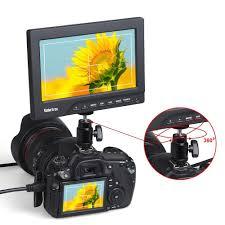 amazon com koolertron protable 1080p 7 inch camera crane jib