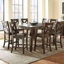 newcastle counter height table 9 piece dining sets you ll love