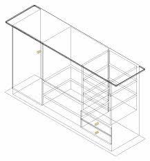 Reception Desk Cad 3d Cad Drawing Home Design