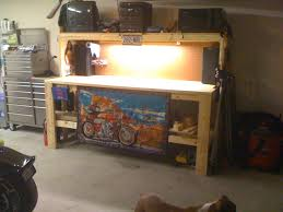 furniture interesting craftsman workbench with oak wood material