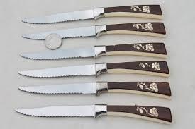 sheffield steel carving knives steak knives set frozen food knife