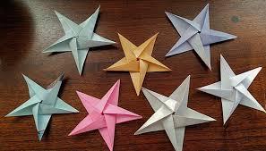 Origami Paper Works - pentagons paper folding origami playful bookbinding