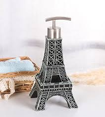 themed soap dispenser eiffel tower decor