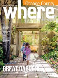WHERE Orange County Magazine Spring 2017 by SoCalMedia issuu