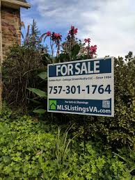 yard sign rental homes for sale by owner fsbo virginia flat fee