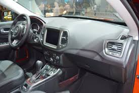 jeep compass dashboard jeep compass trailhawk dashboard side view at 2017 dubai motor