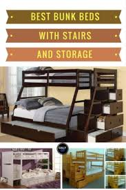 Bunk Beds With Stairs And Storage The Best Bunk Beds With Stairs And Storage That Make Bedrooms Look